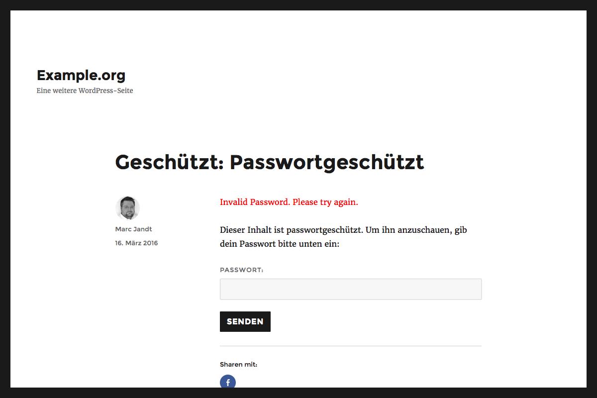 mokelage-fehlerhaftes-passwort